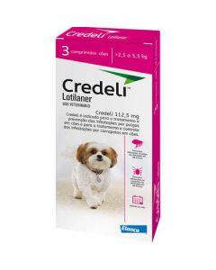 Credeli Para Cães de 2,5 a 5,5 Kg - cx c/ 1 comprimido