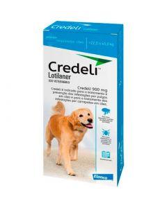 Credeli 900 mg para Cães - 22 a 45kg - cx c/ 01 comprimido